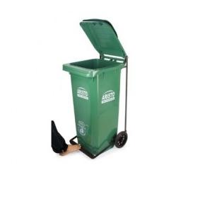 Aristo Wheel Waste Bin With Pedal, 240 Ltr