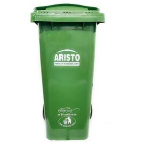 Aristo Wheel Waste Bin, 120 Ltr