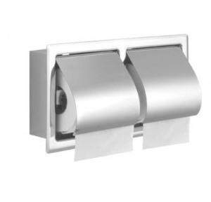 Euronics Twin Toilet Paper Holder (Recessed), RPH 05T