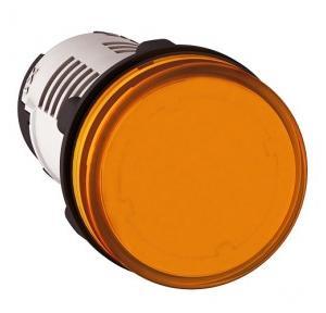 Schneider Round Pilot Light Harmony XB7 22mm 120V Orange, XB7EV08GPN