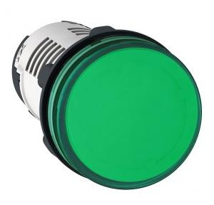 Schneider Round Pilot Light Harmony XB7 22mm 24V Green, XB7EV03BPN