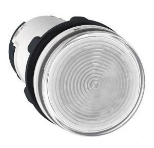 Schneider Round Pilot Light Harmony XB7 22mm 24V White, XB7EV01BPN