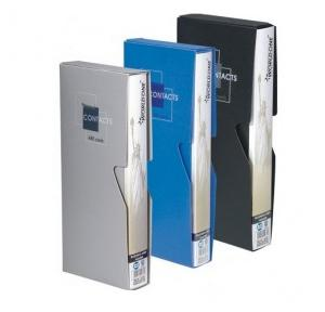 Worldone BC100 Business Card Holder With Case, 120 Cards