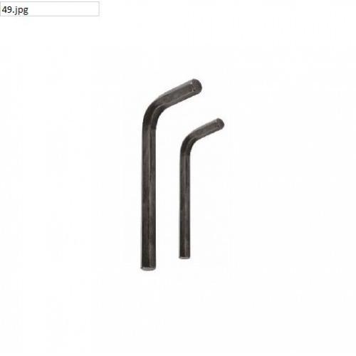 JK Black Finish Hex Allen Key 45mm, SD7800546