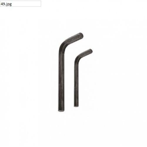 JK Satin Finish Hex Allen Key 80mm, SD7800560
