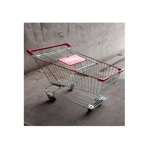 Shopping Trolley SS With Lower Support Space, 65 Ltrs