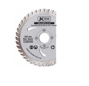 JK Circulr Saw for Wood Cutting 10X25.4X60T, SD9060059