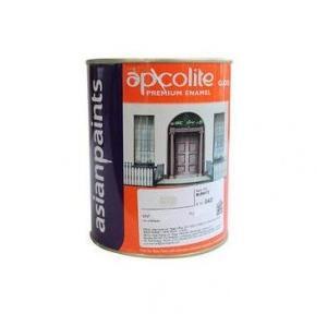 Asian Paints Apcolite Premium Enamel Paint (Black), 10 Ltr