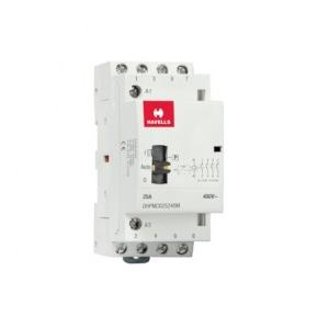 Havells Automatic Modular Contactors With Manual Override 25A NO 4P, DHPMC025240M