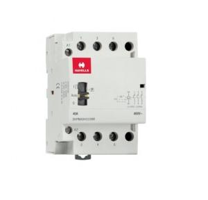 Havells Automatic Modular Contactor With Manual Override 40A 3NO 3P, DHPMA040330M