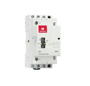 Havells Automatic Modular Contactor With Manual Override 25A 3NO 3P, DHPMA025230M