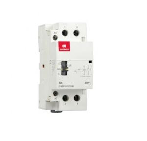 Havells Automatic Modular Contactor With Manual Override 40A 2NO 2P, DHPMF040220M