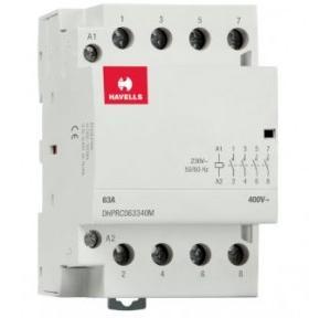 Havells Automatic Modular Contactor 63A 4NO 4P, DHPRC063340M