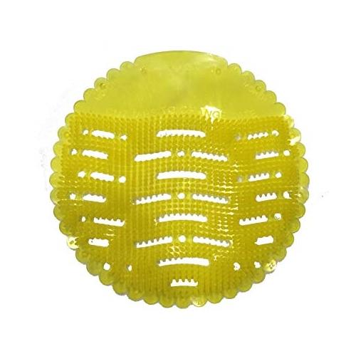 FineX Plastic Urinal Screen Mat (Rim Block Lemon)