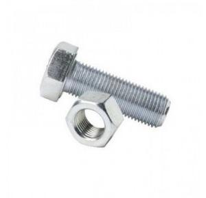MS Nut Bolt, 8x40 mm