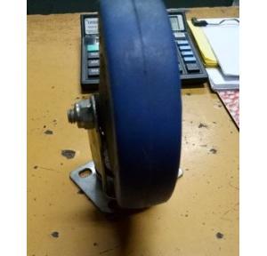 Trolley Wheel Mild Steel, Width: 1 Inch, Outer Dia: 4 Inch