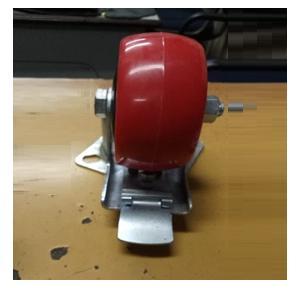 Trolley Wheel Mild Steel, Width: 2 Inch, Outer Dia: 4 Inch