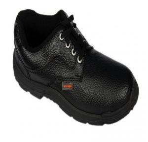 Liberty Freedom Steel Toe Black Safety Shoes, Size: 9