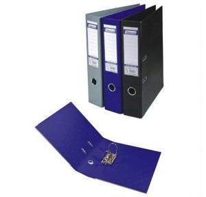 Worldone LA418F Lever Arch File (PVC+Paper), Size: F/C