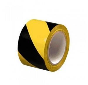 Zebra Floor Marking Tape, 3 Inch x 23 Mtr