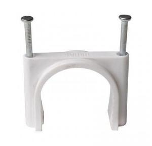 PVC U Clamp, 25mm (Pack of 100 Pcs)