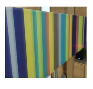 Amcor International Glass Printed Frosted Film, 1 Sqft