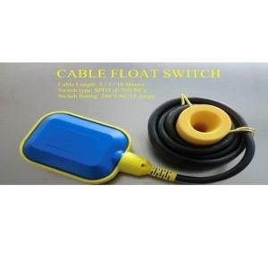 Cable Float Switch SPDT 15A 240V AC, Cable Length: 3mtr