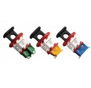 Asian Loto Pin Type MCB Lockout Tagout (Set of 3 Each of Pin IN, Pin Out and Pin wide)