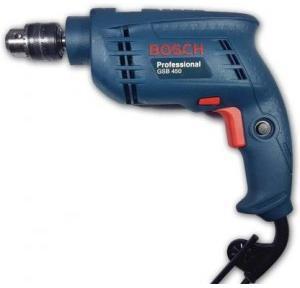 Bosch Plastic Impact Drill Machine 450W 2600RPM, GSB 450
