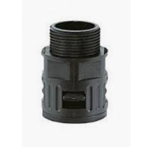 Kapson Black Quick Screw Connector/ Straight Glands, RQG1-AD 42.5