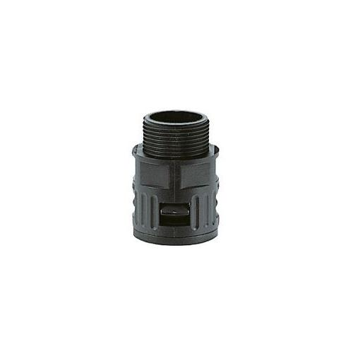 Kapson Quick Screw Connector/ Straight Gland, RQG1-AD 15.0 (Black)