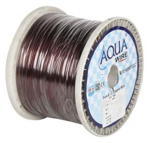Aquawire Enameled Copper Wire, Conductor Diameter: 0.152 mm, SWG: 38, 5 kg