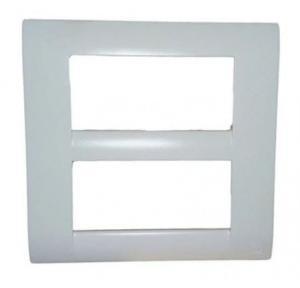 MK Front Plate Square White Blenze Plus 8M(S), DW108VWHI