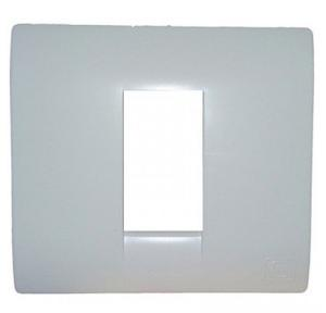 MK Front Plate White Blenze Plus 1M, DW101WHI
