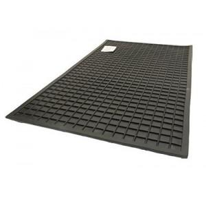 Electrical Insulation Rubber Mat 1mtr, Thickness: 12mm (Black)