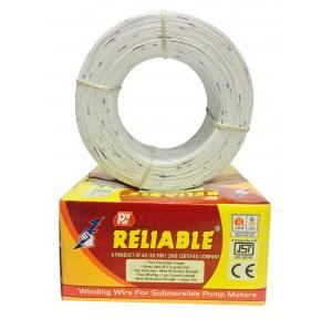 Reliable Polywrap Submersible Winding Wire, Conductor Diameter: 0.80 mm, 10 Kg