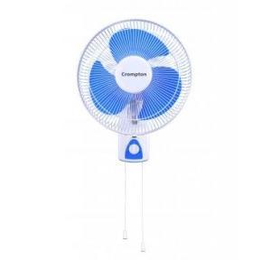 Crompton Wind Flo Hi-Speed Wall Fan 300mm 80W (White)
