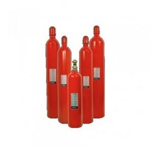 Kanex Refilling of Fire Extinguisher CO2 Type With Safety Pins, 2Kg