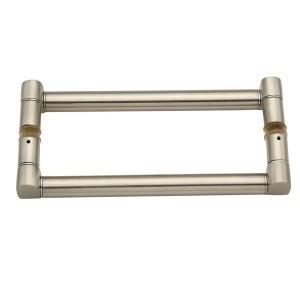 Loctec Delta Door Handle (Silver)