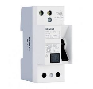 Siemens AC RCCB 40A 2P 30mA, 5SV43140RC