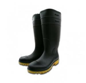 Oil Resistant Rubber Long Safety Boot, Size: 6
