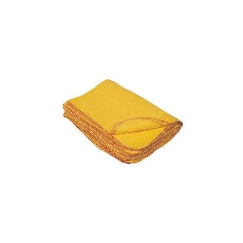 Yellow Duster, 26x26 Inch(Pack of 12 pcs)