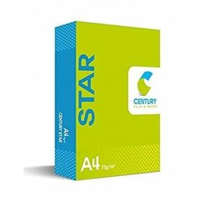 Century Star Copier Paper A4 Size 75 GSM, 500 Sheets
