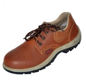 Karam FS 61 Premium Range Brown Steel Toe Safety Shoes d1608b151