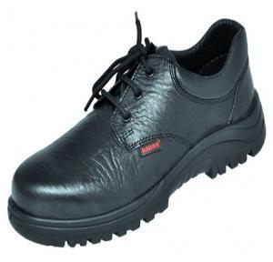 Karam FS 05 Gripp Series Black Steel Toe Safety Shoes, Size: 9