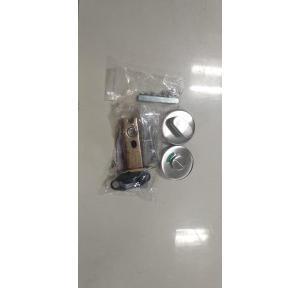 Dorma Tubular Dead Bolt WC Indicator Satin Stainless Steel, TDB300