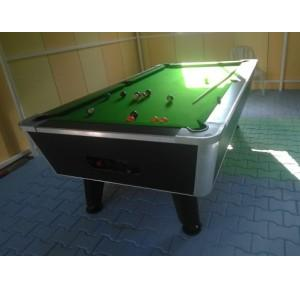 Sunshine Pool Table Set 8ft 2.1/2Inch x 4ft 6.1/2Inch x 34 Inch, SB-RE-4585 (Black)