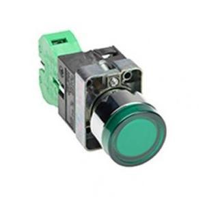 C&S Indicator Lamp Push Type NO-NC Block (Green)