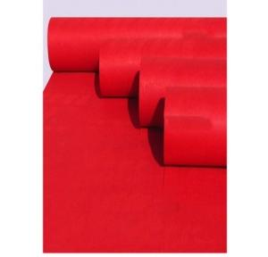 Red Carpet Synthetic Fabric, 6x20 ft