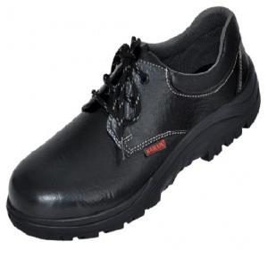 Karam FS 02 Gripp Series Black Steel Toe Safety Shoes, Size: 7